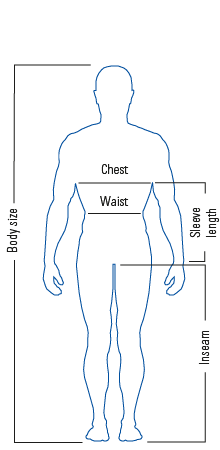 Body measurement table
